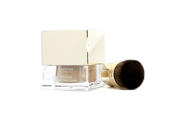Clarins Skin Illusion Mineral & Plant Extracts Loose Powder Foundation (With Brush) - # 109 Wheat (13g/0.4oz)