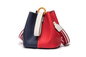Purses And Handbags Tote Bucket Bag Crossbody Bag For Women Purse Side Bag Blue Red