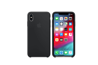 Silicone Gel Rubber Shockproof Protective Case Cover For Iphone Black Iphone X/Xs