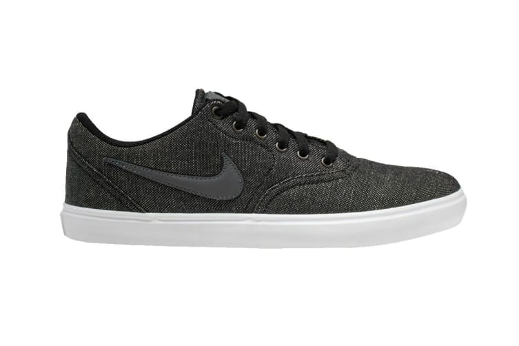 Nike Men's SB Check Solar Canvas Shoes (Grey, Size 9 US)