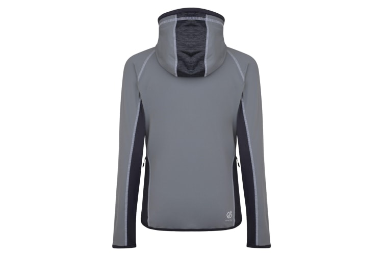 Dare 2B Womens/Ladies Courteous Hooded Midlayer (Cloudy Grey/Charcoal Grey) (10 UK)