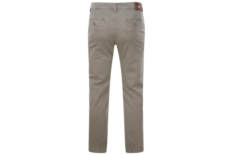 Kam Jeanswear Mens Stretch Chinos (Stone) (56R)