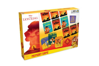36pc Lion King Memory Card Matching Game Educational Toys 2-4 Players Kids 3y+