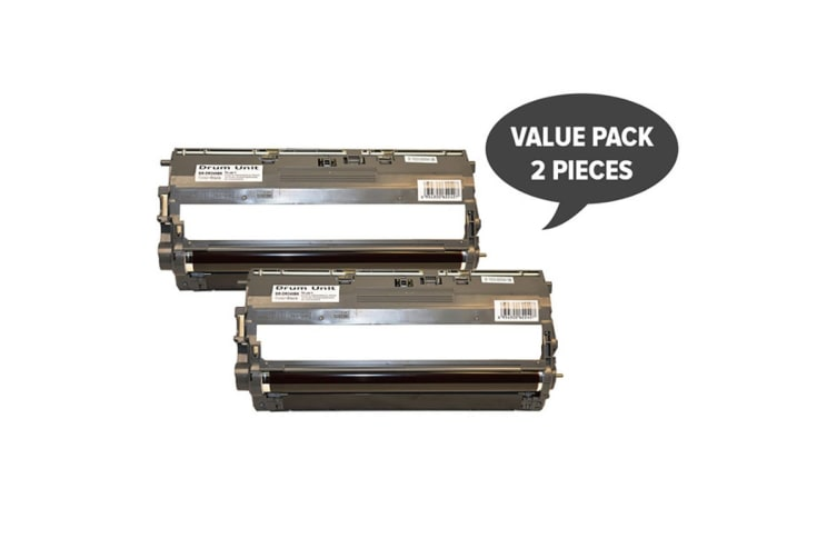 DR-240 Black Premium Generic Drum Unit (Two Pack)