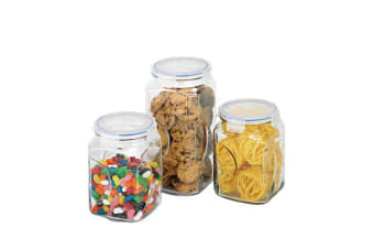 Glasslock Canister Set 3pc
