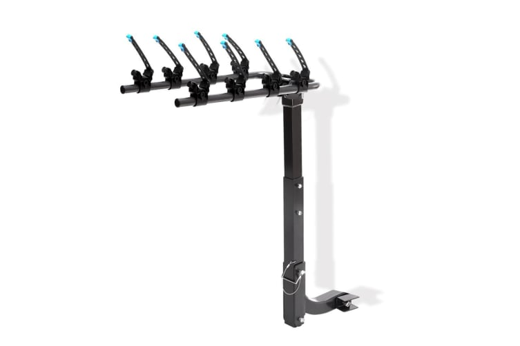 Monvelo 2 and 4 Rear Car Bike Rack Carrier Mount Bicycle Steel Foldable Hitch