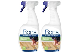 2PK Bona 1L Wood Floor Cleaner Spray Maintenance for Wooden/Timber Surface