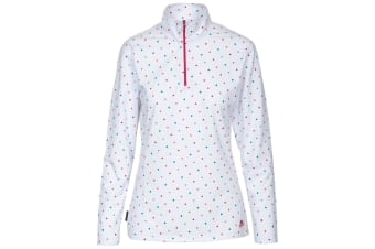 Trespass Womens/Ladies Betty II 1/2 Zip Long Sleeve Top (RAINBOW SPOT)