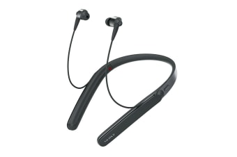 Sony Wireless Neckband Noise Cancelling Headphones - Black (WI1000XB)