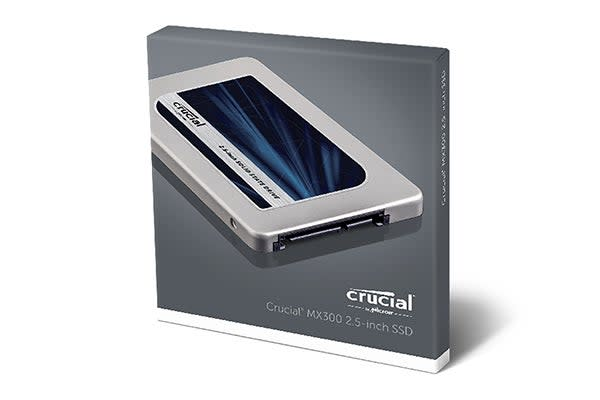 "Crucial 275GB MX300 SATA 2.5"" 7mm with 9.5mm adapter SSD (CT275MX300SSD1)"