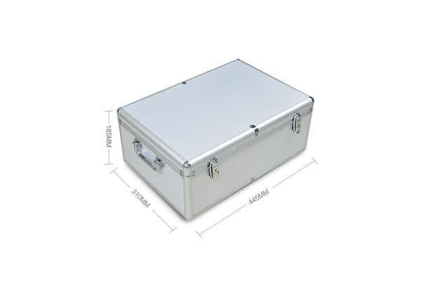 Aluminium CD Case DVD Case With Bluray Lock 500 Discs