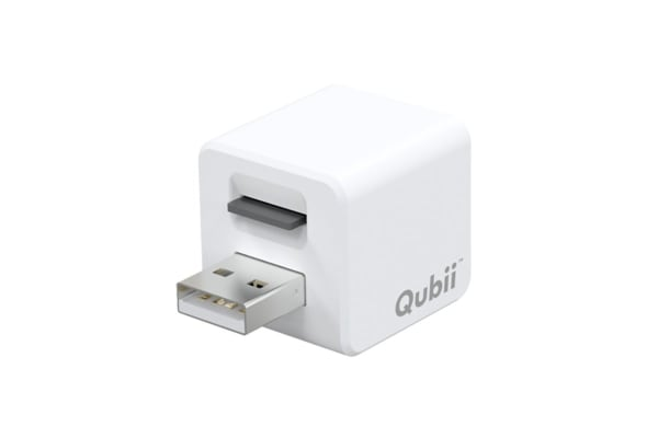 Maktar Qubii Automatic Backup/Storage Whilst Charging Port for iPhones & iPads (MKPQ-W)