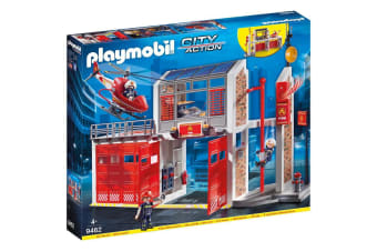 Playmobil City Action Fire Brigade Fire Station (9462)