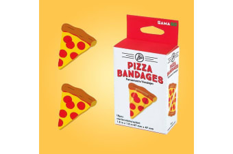 Pizza Adhesive Bandages | Novelty First Aid Plaster
