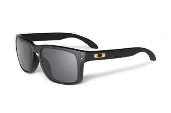 Oakley HolBrook OO9102 17 Matte Black Mens Sunglasses