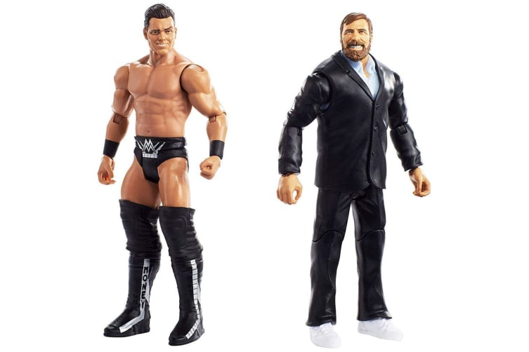 WWE Figure Series #49 Daniel Bryan & The Miz Action Figures 2 Pack