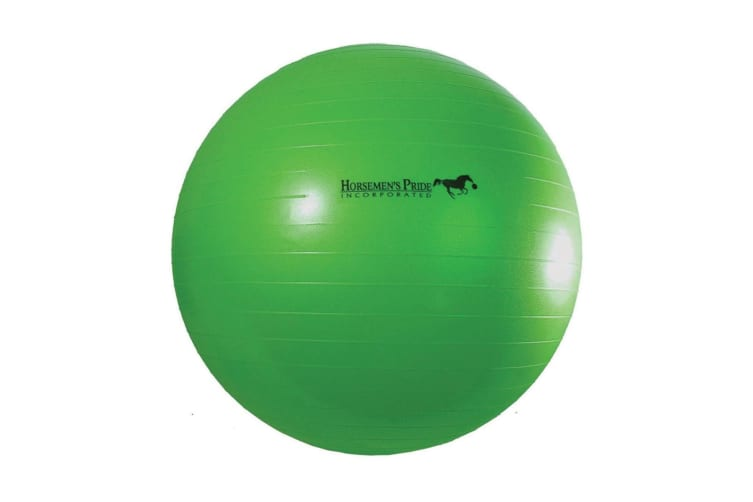 Horsemens Pride Jolly Mega Ball Horse Toy (Green) (40in)