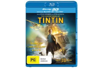 The Adventures of Tintin The Secret of the Unicorn 3D Edition with 2D Edition Blu-ray