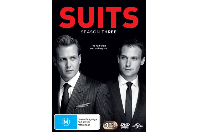 Suits Season 3 DVD Region 4