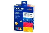 BROTHER Ink Cartridge LC67HYCL3PK High capacity Cyan/Magenta/Yellow