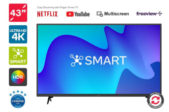 "Refurbished Kogan 43"" Smart HDR 4K LED TV (Series 8 LU8010)"