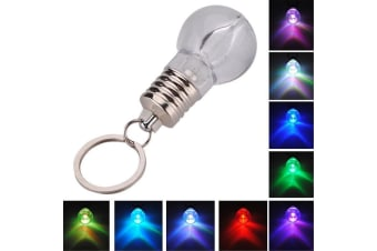 Light Bulb LED Keyring Torch