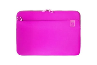 "Tucano Top Second Skin Neoprene Sleeve for MacBook Pro 13"" Late 2016 - Fuchsia"