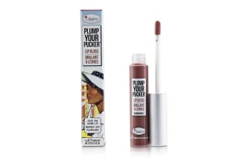 TheBalm Plum Your Pucker Lip Gloss - # Exaggerate 7ml