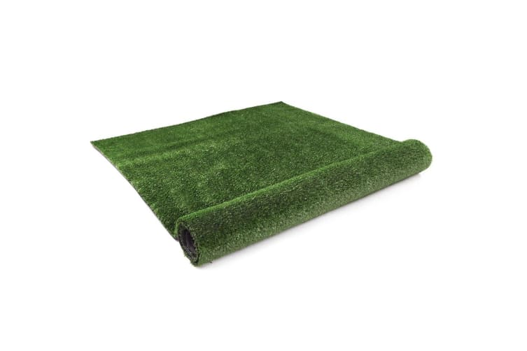 1x20M Synthetic Artificial Grass Turf Plastic Olive Plant Lawn 17mm