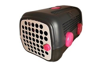United Pets A.U.T.O. Pet Carrier Grey Pink