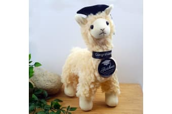 Graduation Llama Plush with Personalised Badge