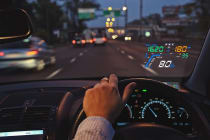 GPS Car Head Up Display