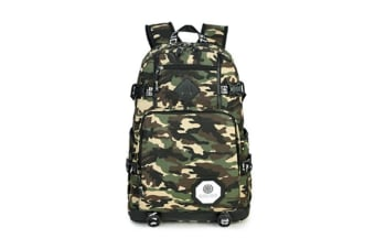 Stylish And Cool Prints Multifuntional School Backpack - 1