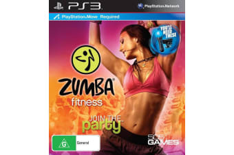 ZUMBA FITNESS PS3 PlayStation 3 Game - Disc Like New