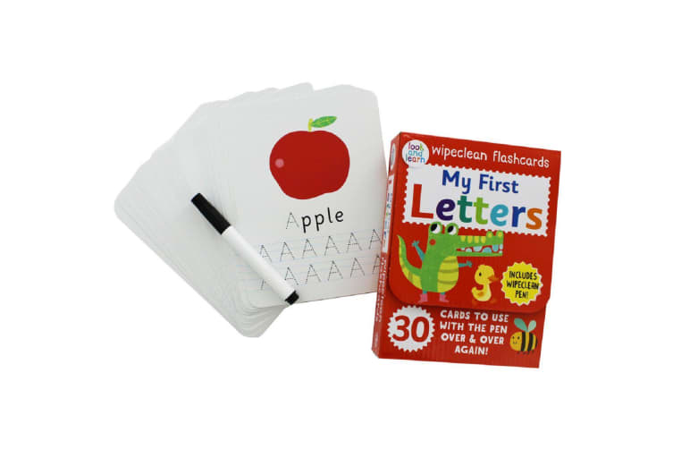 Wipeclean flashcards My First Letters
