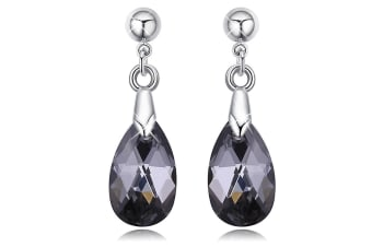 Elmina Crystal Drop Earrings Embellished with Swarovski crystals