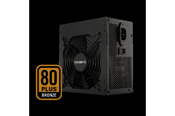 Gigabyte B700H 700W ATX PSU Power Supply 80+ Bronze 85% 120mm Fan Modular Black Flat Cables Single +12V Rail  Japanese Capacitors >100K Hrs MTBF
