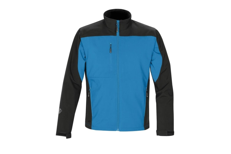 Stormtech Mens Edge Softshell Jacket (Waterproof And Breathable) (Marine Blue/Black) (L)