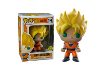 Dragon Ball Z Goku Super Saiyan Glow US Exclusive Pop! Vinyl
