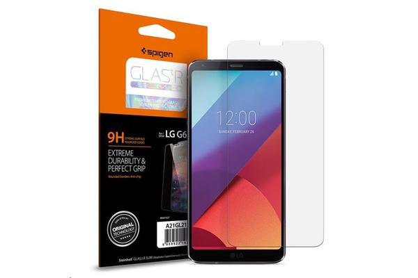 Spigen LG G6 Premium Tempered Glass Screen Protector Extreme Durability