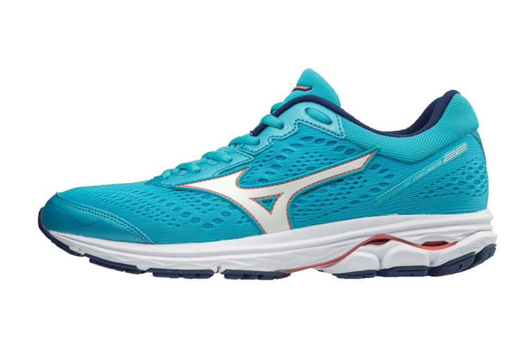 Mizuno Women's WAVE RIDER 22 Running Shoe (Diva Blue, Size 7.5 US)