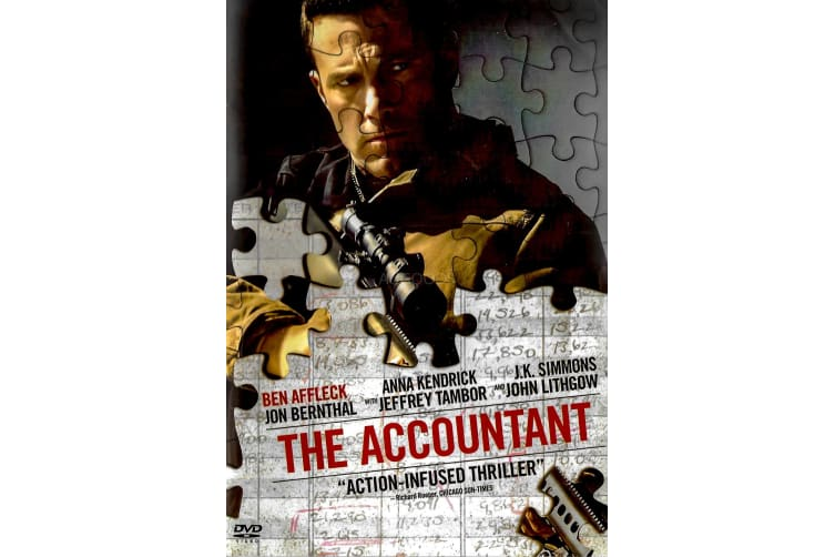The Accountant - Region 1 Rare- Aus Stock DVD PREOWNED: DISC LIKE NEW