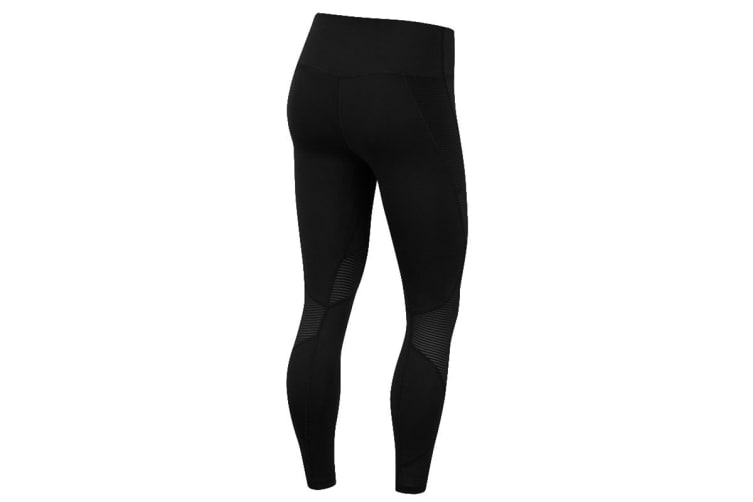 Nike Fast 7/8 Women's Running Tights (Black/White, Size XS)