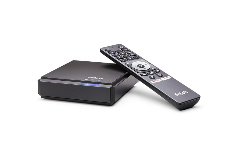 Fetch Mini - Single Tuner Set Top Box with access to Netflix, Stan, Movie Store and TV Store