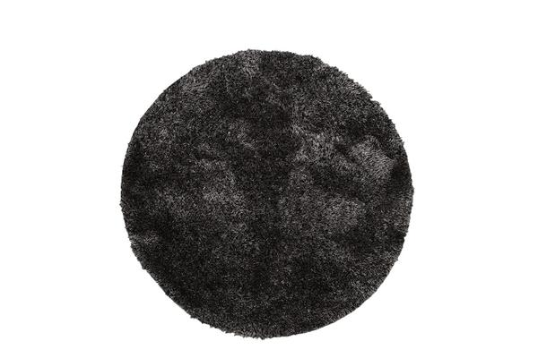 Twilight Shag Rug - Charcoal 150x150cm