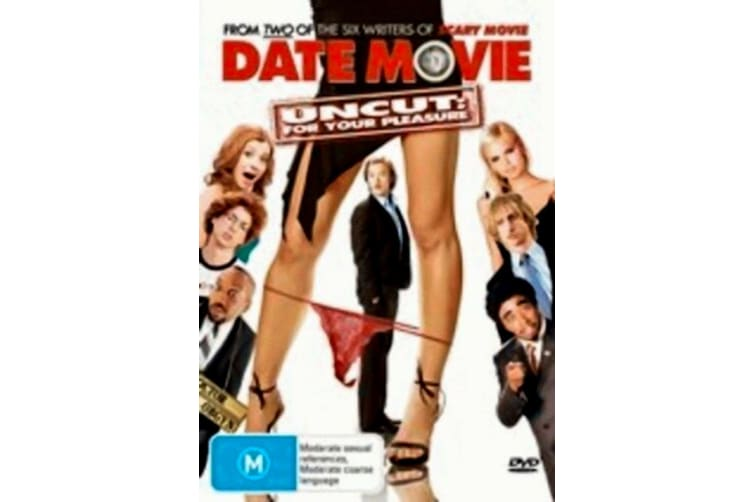 Date Movie Uncut -Alyson Hannigan -Comedy Region 4 Rare- Aus Stock Preowned DVD: DISC LIKE NEW