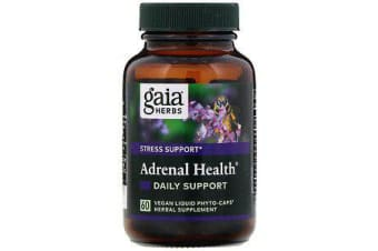 Adrenal Health Daily Support - 60 Vegan Liquid Phyto-Caps