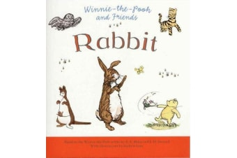 Winnie The Pooh - Rabbit  - Illustrated by Andrew Grey