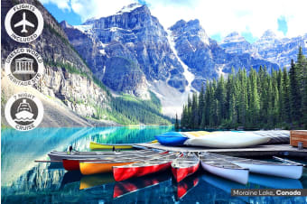 CANADA & ALASKA: 19 Day Tour & Cruise Including Flights for Two