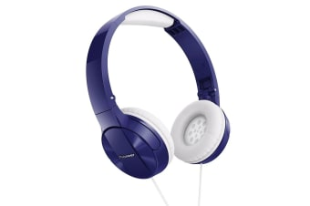 Pioneer SE-MJ503-L Stereo Headphones - Blue